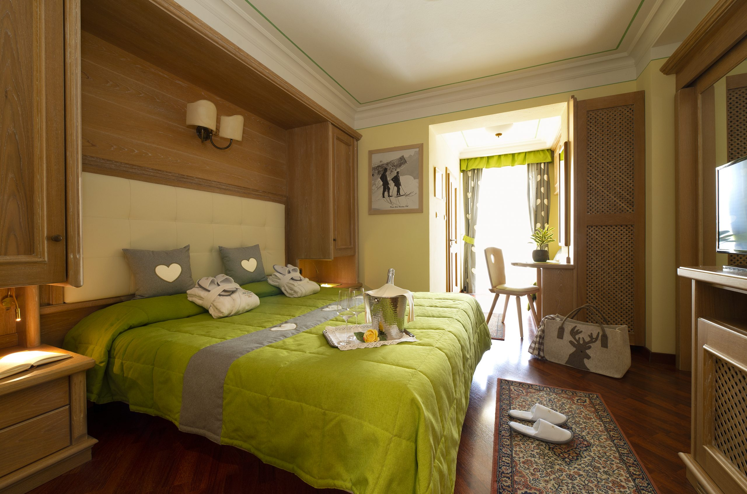 Camere Hotel val di Fassa a Moena - Hotel alle Alpi
