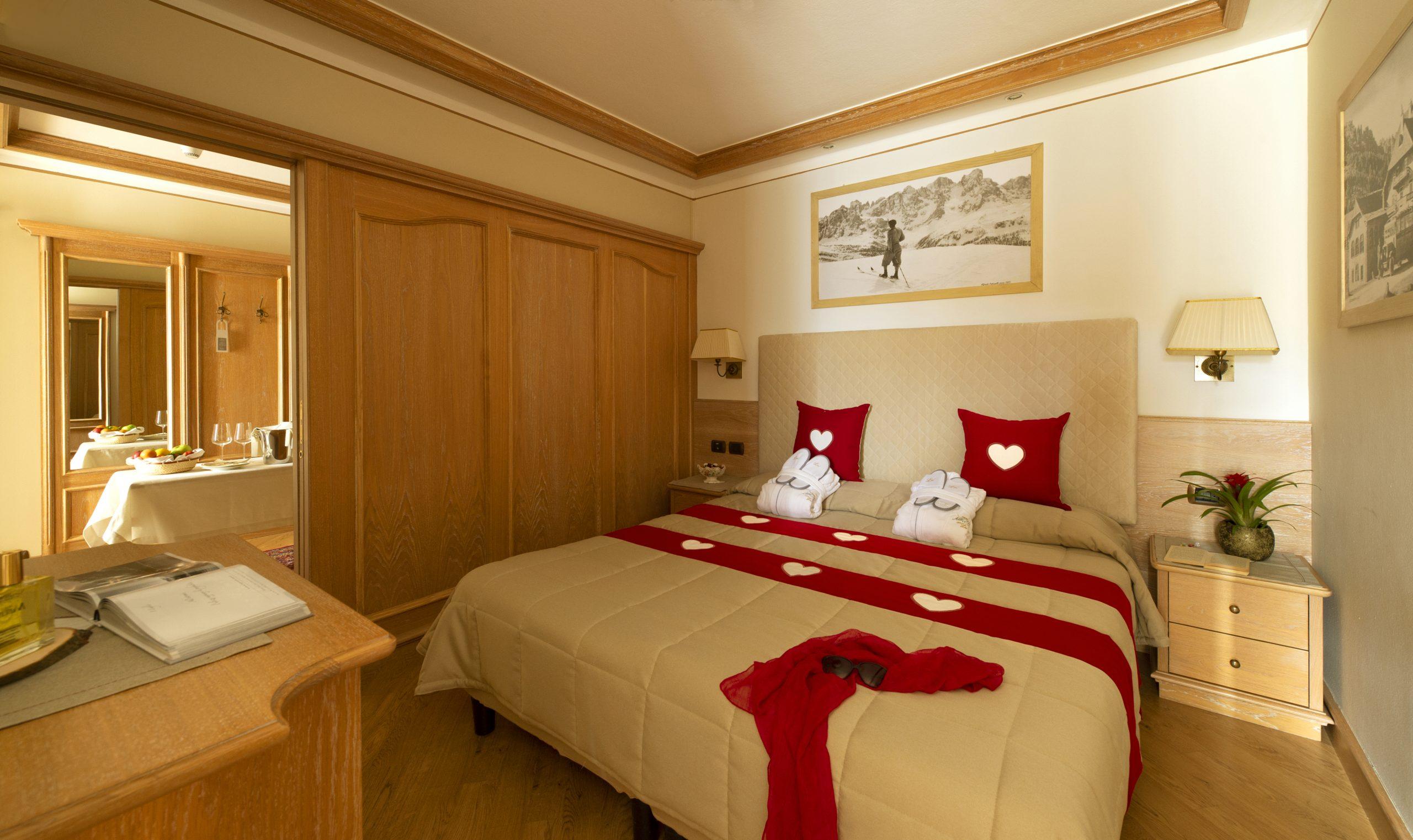 suite relax presso l'hotel alle alpi a Moena