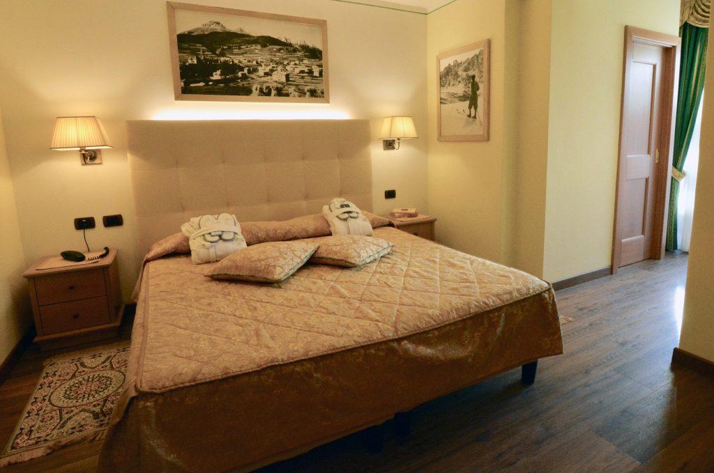 camera classica Hotel alle Alpi nelle Dolomiti