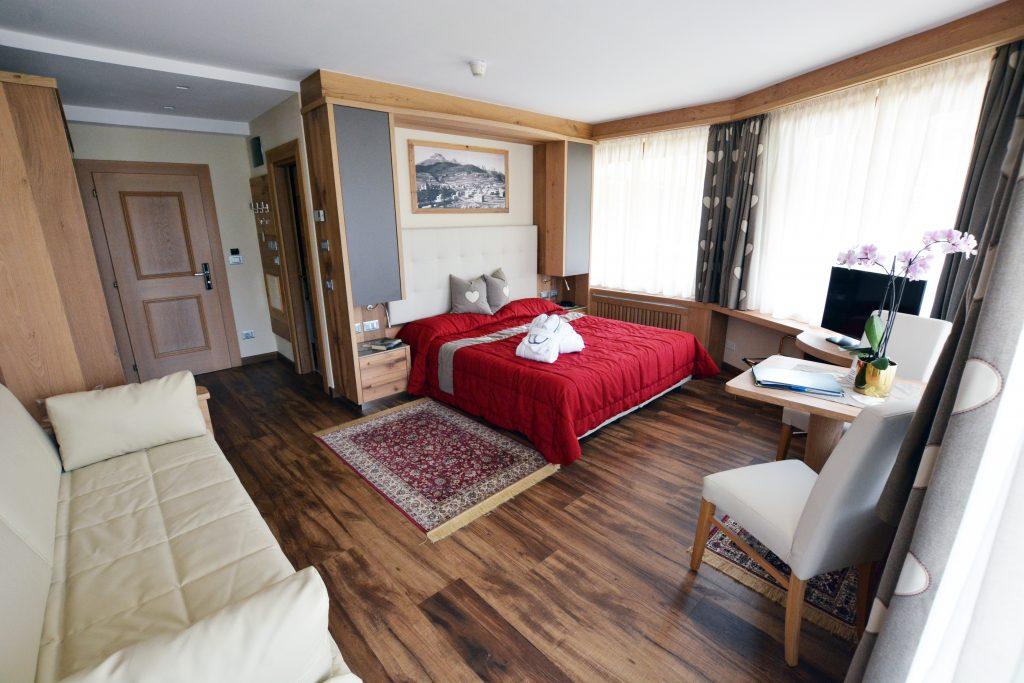 comfort room hotel alle alpi beauty e relax 4 stelle a moena