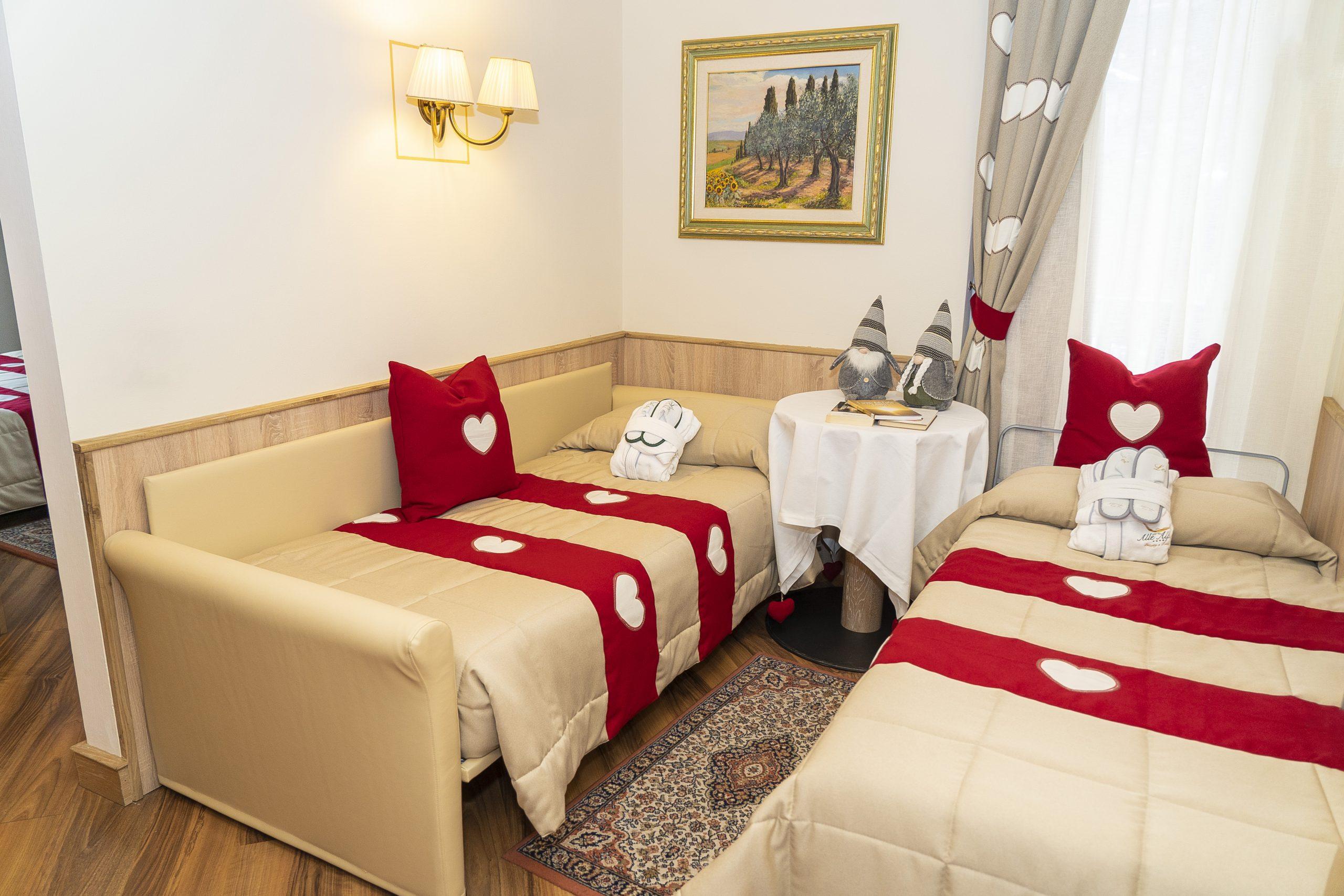 Hotel Val di Fassa Family Room Hotel alle Alpi