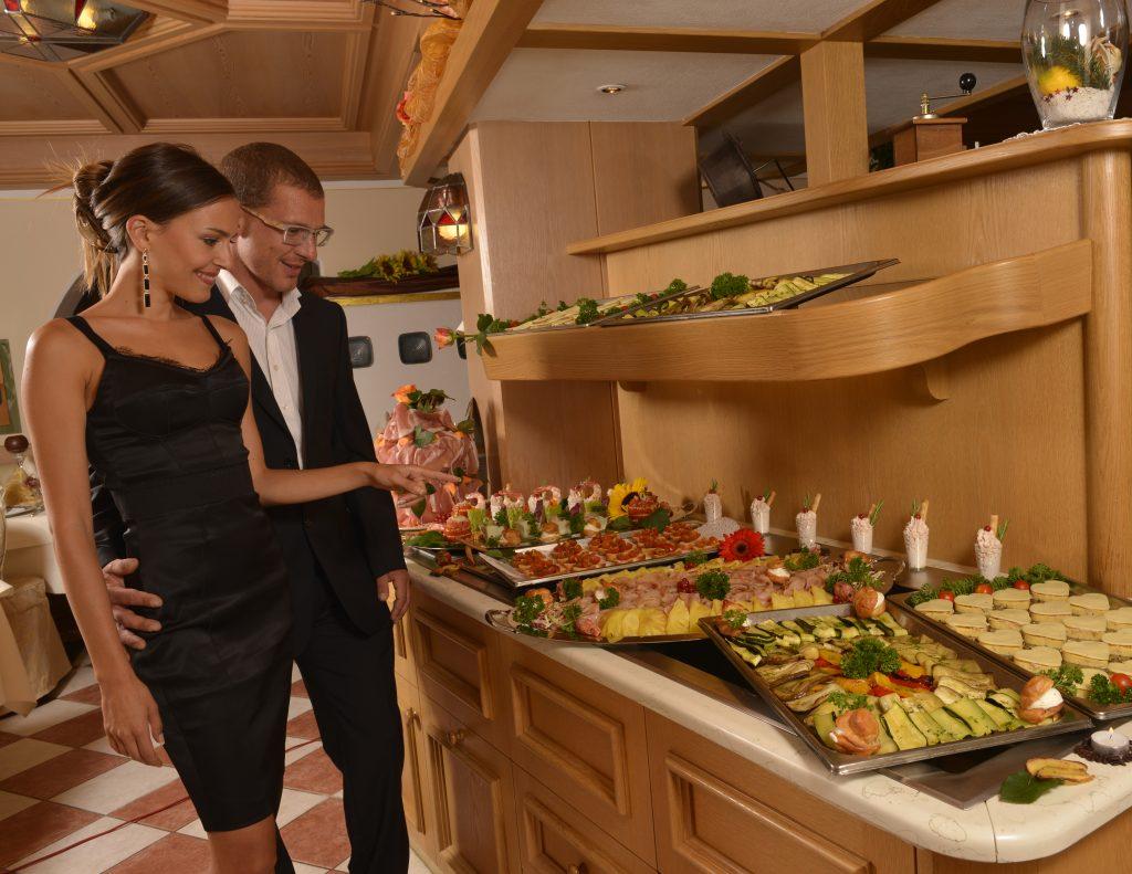 gluten free buffet at the hotel alle alpi in moena