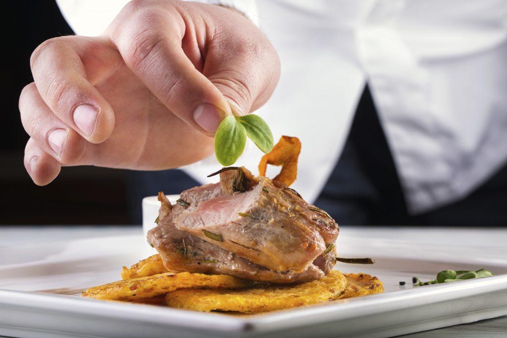 piatto di carne gourmet