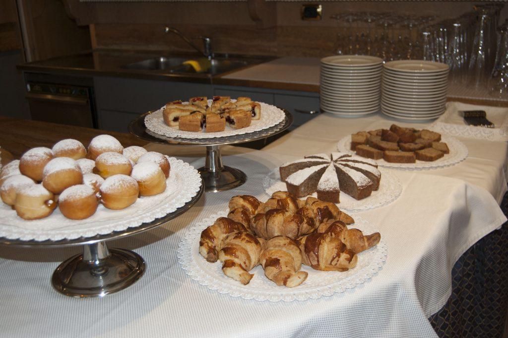 snacks at hotel alle alpi in moena