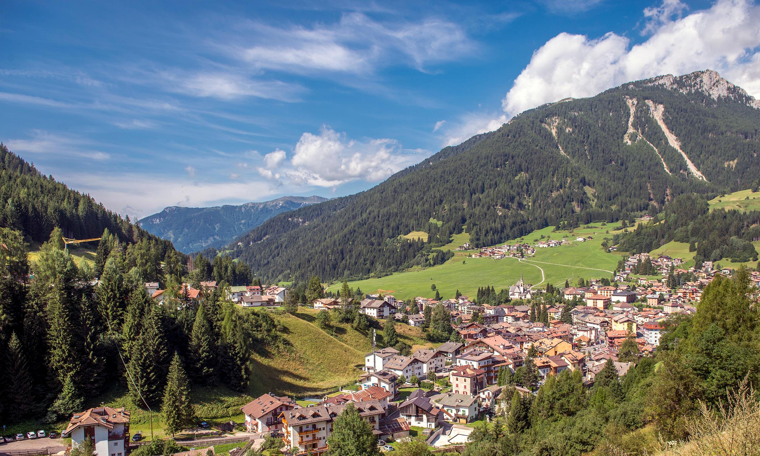 Hotel Moena Trentino - hotel alle alpi: la tua vacanza estate in montagna nel cuore delle Dolomiti
