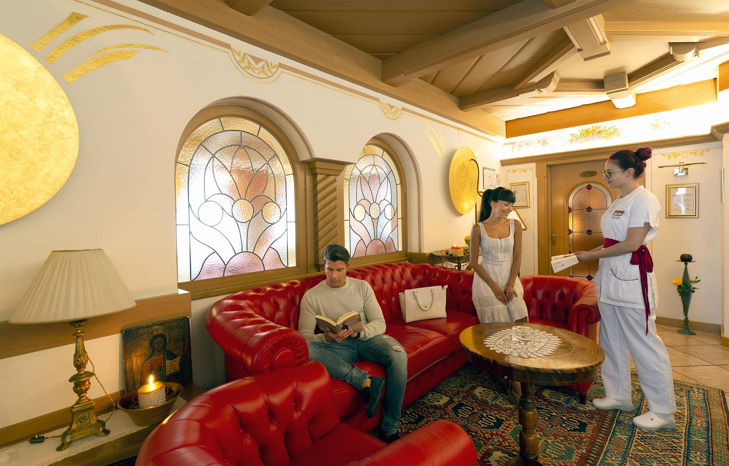 Hotel Alle Alpi Beauty e Relax - Hotel Moena in val di Fassa Trentino, hall