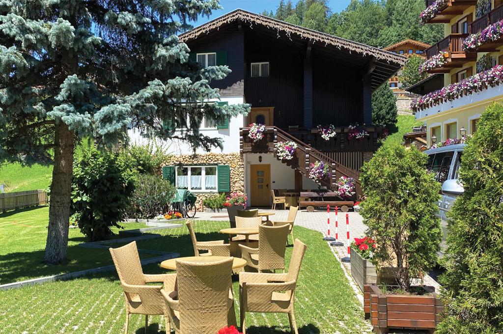 holiday apartments of villa loris in val di fassa