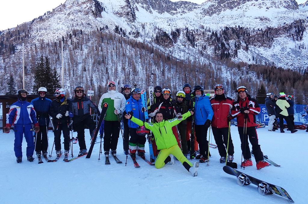 accompanied ski tour of the 4 passi sella ronda dolomites superski
