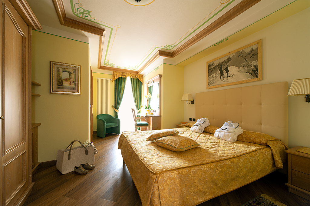 Hotel Val di Fassa camere in val di Fassa a Moena, Hotel 4 stelle Val di Fassa, Camera Relax, Camera Comfort, Camera Doppia
