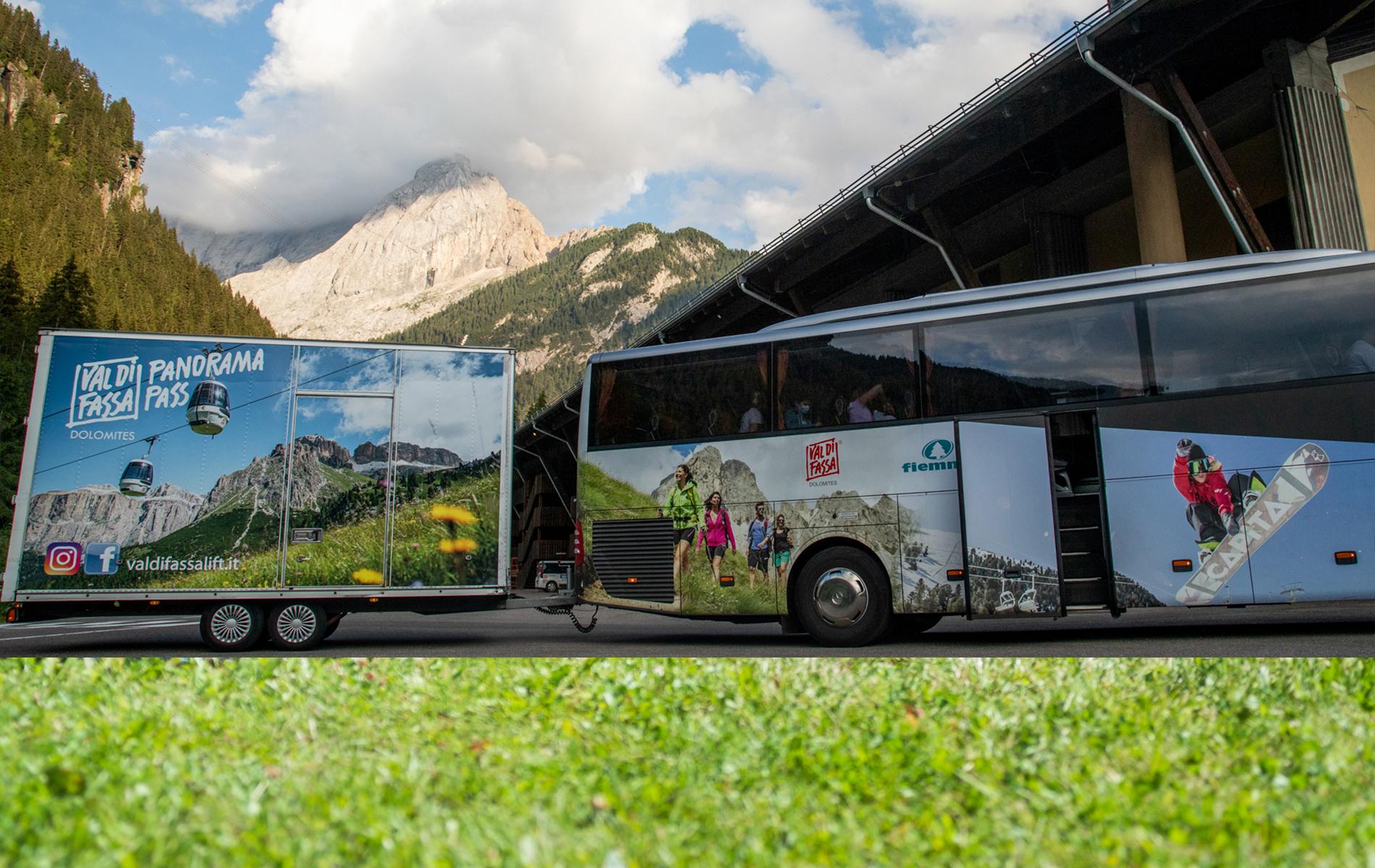 Servizio Ski-bus privato Val di Fassa