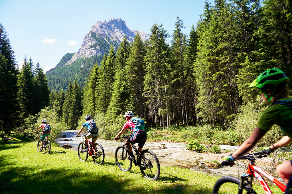 mountain bike tour val di fassa