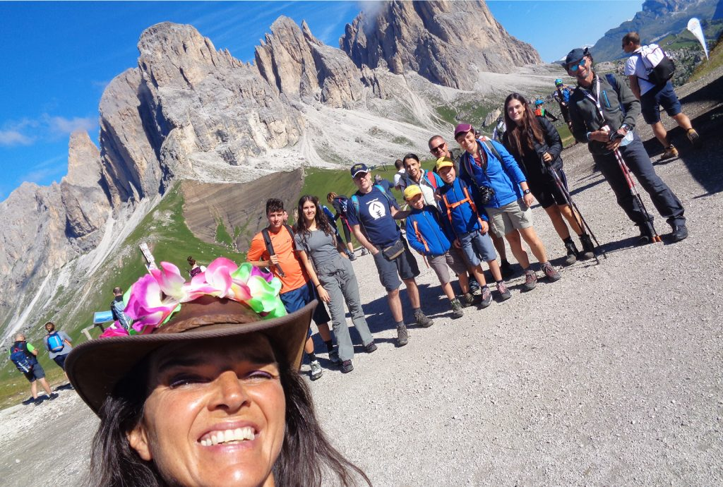 activities in val di fassa with rossana